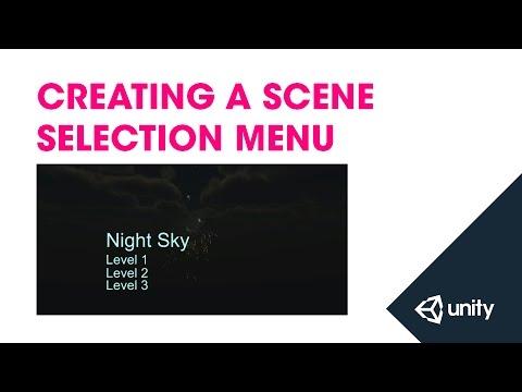 Live Training 24th November 2014 - Creating A Scene Selection Menu