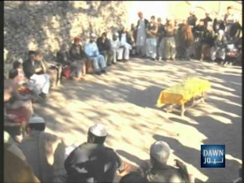 Pakistan- Mansehra Report on Bomb Blast in Police Van at District Torghar - DAWN TV.