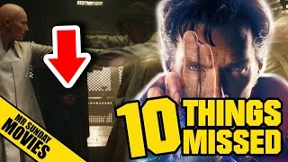 DOCTOR STRANGE Trailer - Easter Eggs, References & Things Missed (& Red Arrows)