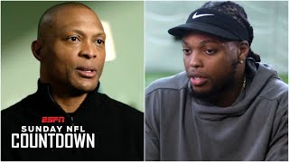 Titans RB Derrick Henry Grateful For Eddie George's Advice And Motivation | NFL Countdown