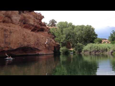 Three Lakes in Kanab Utah