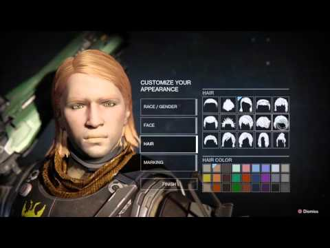 Destiny - Creating New Character