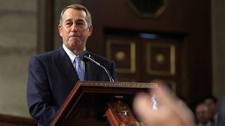 Speaker Boehner's Farewell Address