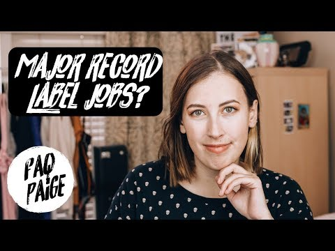 what job can I get at a major record label? Mp3