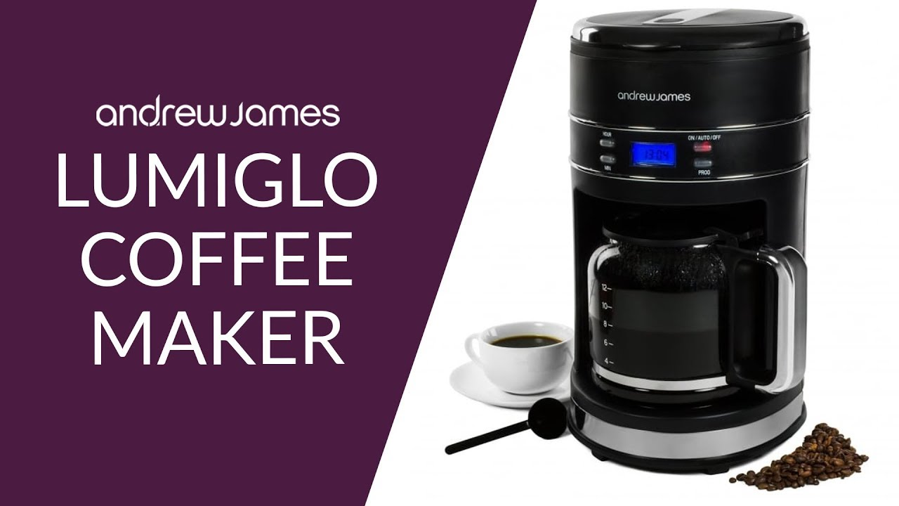 The Andrew James Lumiglo Range Filter Coffee Maker