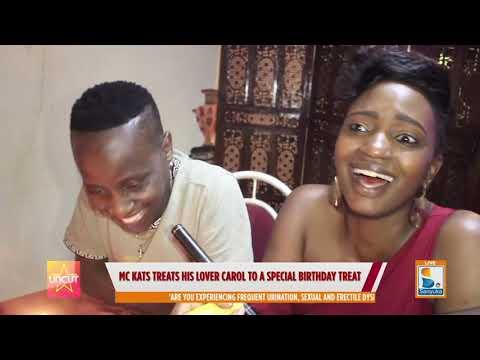mc kats treats his lover carol to aspecial birthday treat | sanyuka uncut