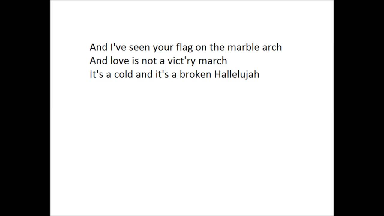 Hallelujah - Pentatonix (lyrics-video) - YouTube