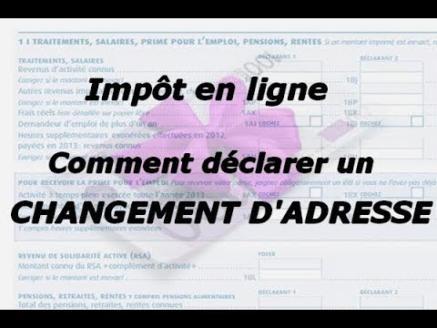 tutoriel imp t comment d clarer un changement d 39 adresse sur imp youtube. Black Bedroom Furniture Sets. Home Design Ideas