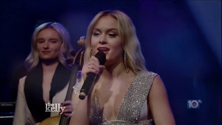 Zara Larsson & Clean Bandit - Symphony - Live @ Kelly [HD]