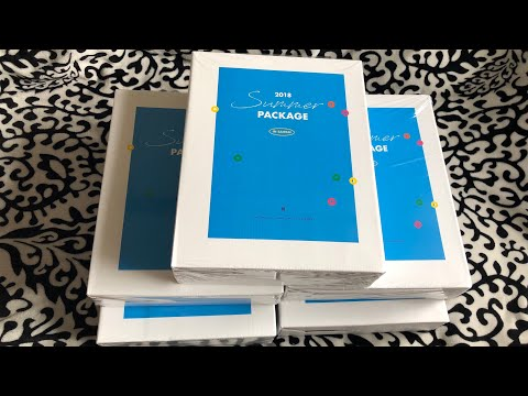 [UNBOXING] BTS 2018 Summer Package In Saipan