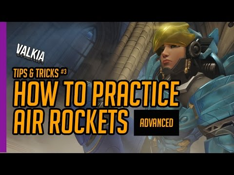 Quick Guide: How to practice Air rockets/shots with Pharah EP#3