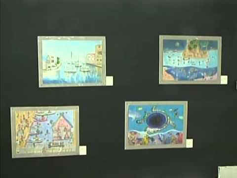 An art exhibition created by primary school students