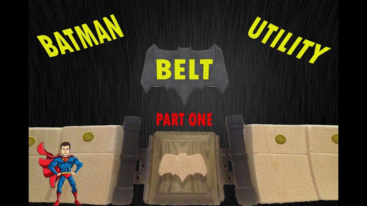 Diy Batman Utility Belt Part One