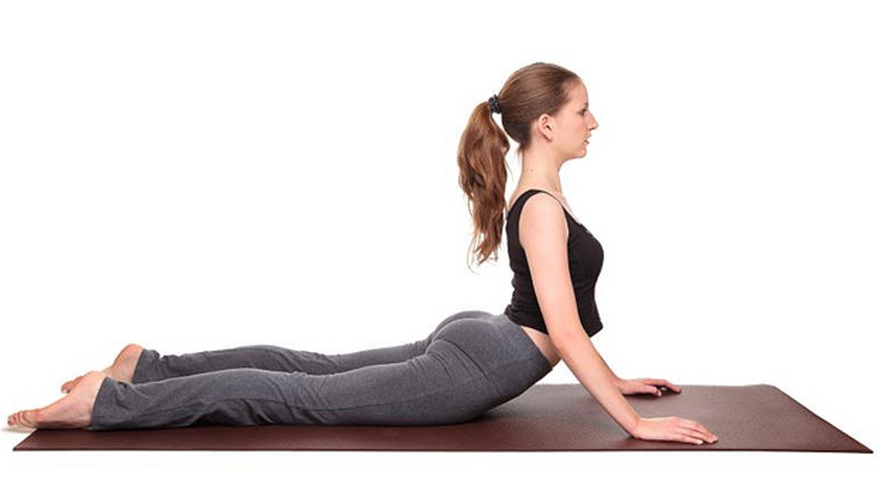 Bhujangasana - Cobra Pose, Yoga Exercise for Slimming ...