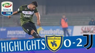 Chievo - Juventus 0-2 - Highlights - Giornata 22 - Serie A TIM 2017/18