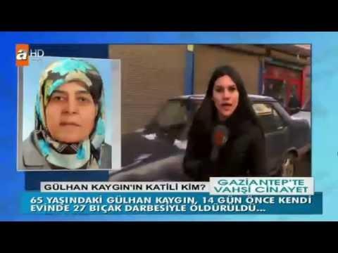 Gaziantep'teki vahşi cinayet Müge Anlı ile Tatlı Sert