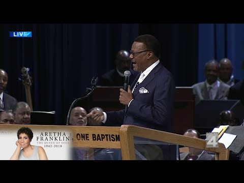 Judge Greg Mathis talks about his last conversation with Aretha Franklin