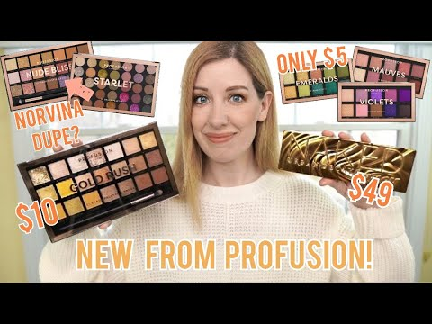 NEW PROFUSION PALETTES...WORTH IT OR SAVE YOUR MONEY?