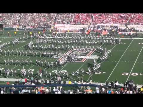 Spartan Band at the  2014 Rose Bowl
