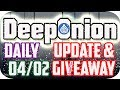 DeepOnion Update & My Video Got Hacked by Alphacoco?