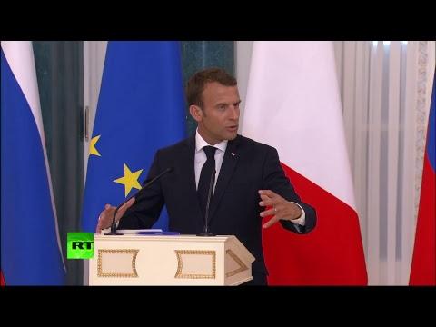 Пресс-конференция Путина и