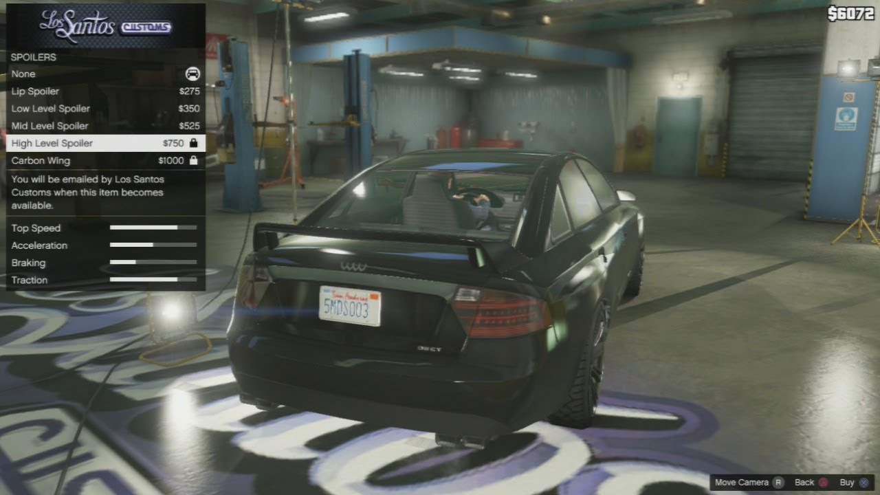 "GTA 5 - Tailgater ""Audi A6"" Car Tuning Customization (GTA ..."