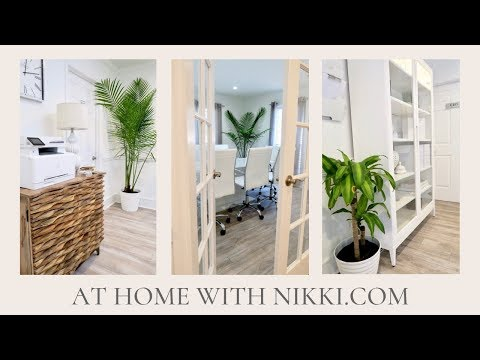 DECORATE WITH ME | MY NEW OFFICE REVEAL PART ONE