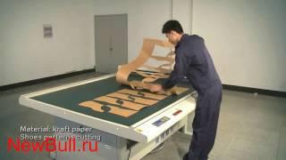 видео планшетный режущий плоттер