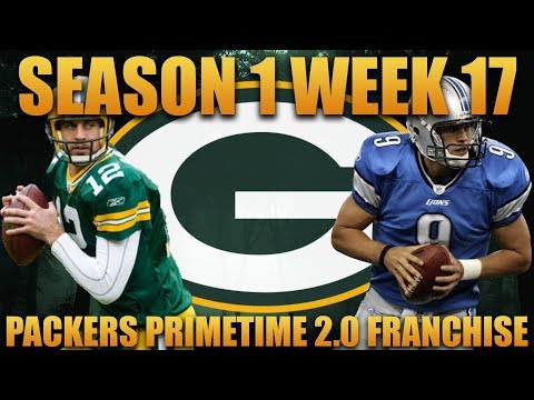 Madden 18 Packers Franchise | Primetime 2.0 League Season 1 Week 17! Amazing Divisional