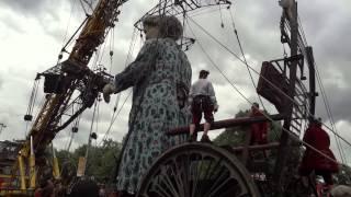 De Reuzen in Antwerpen / Royal de Luxe Antwerp 2015