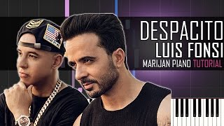 How To Play: Luis Fonsi ft. Daddy Yankee - Despacito   Piano Tutorial + SHEETS