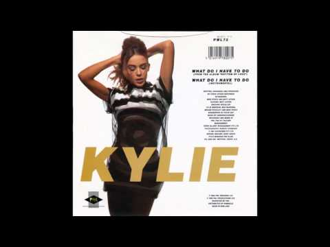 "Kylie Minogue – ""What Do I Have To Do"" (instrumental) (UK PWL) 1990"