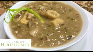 Homemade Vegan - Black Eye Peas Soup