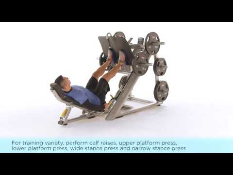 Discovery™ Series Angled Leg Press Instructional Video