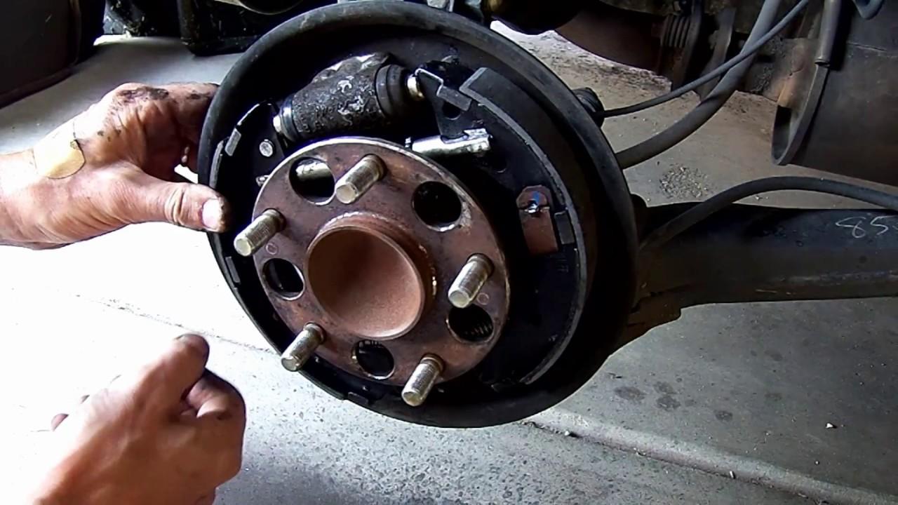 2006 2011 honda civic rear drum brake replacement [ 1280 x 720 Pixel ]
