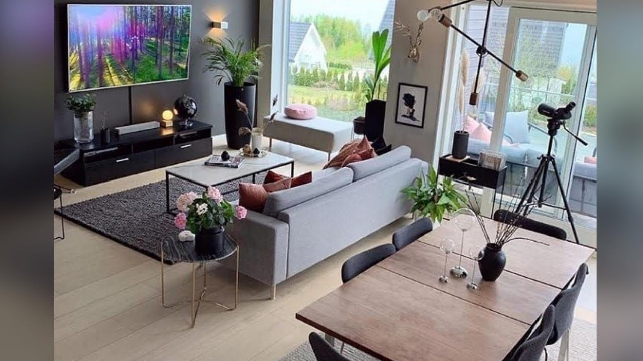 Living Dining Room Combo Decor Ideas For Small Space Youtube