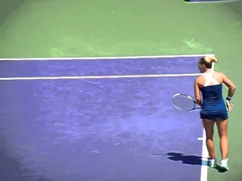 Dominika Cibulkova slow motion points sony 2014