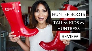 HUNTER BOOTS REVIEW