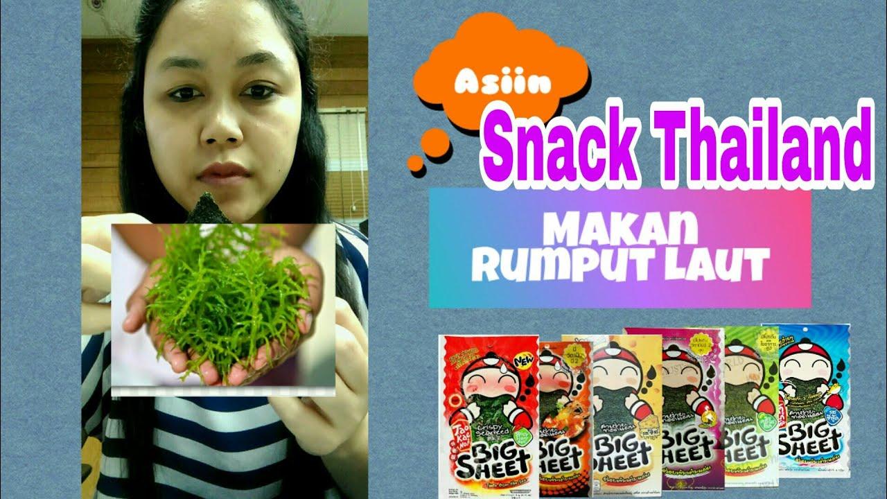 gimana rasa snack thailand tao kae noi review snack rumput laut snack seaweed youtube gimana rasa snack thailand tao kae noi