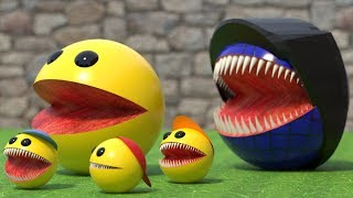 Pacman Kids vs Monster Pacman [The Rescue]