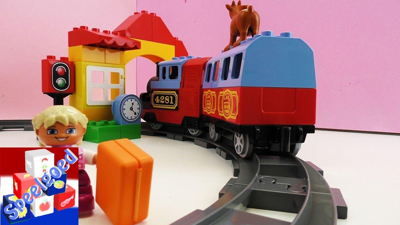 Lego duplo trein starter set – demo – reizen door je eigen kamer ...