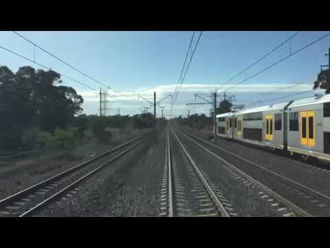 Penrith to North Sydney - REALTIME