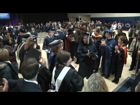 Penn State Brandywine Fall 2017 Commencement