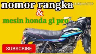 Nomor Rangka Dan Mesin Honda Gl Max Cute766