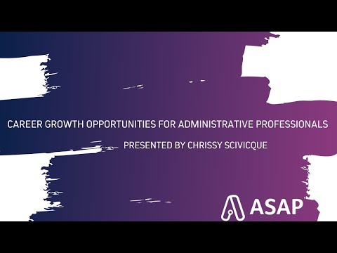 Career Growth Opportunities For Administrative Professionals