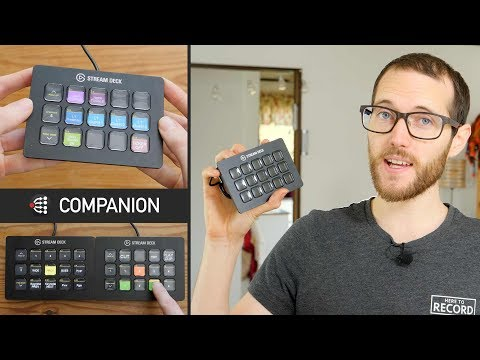 ATEM Control with Stream Deck and Companion // Show and Tell Ep.61