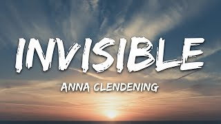 Download Anna Clendening - Invisible (Lyrics) Mp3