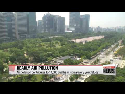 Air pollution contributes to about 14,000 deaths annually in Korea: Study
