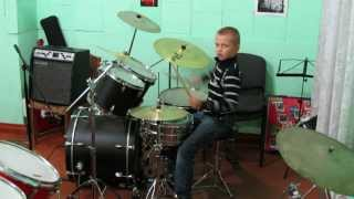 PSY - GENTLEMAN M/V - Drum Cover - Drummer Daniel Varfolomeyev 9 years