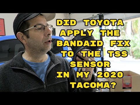 Did Toyota Apply The Bandaid Fix To The TSS Sensor In My 2020 Tacoma